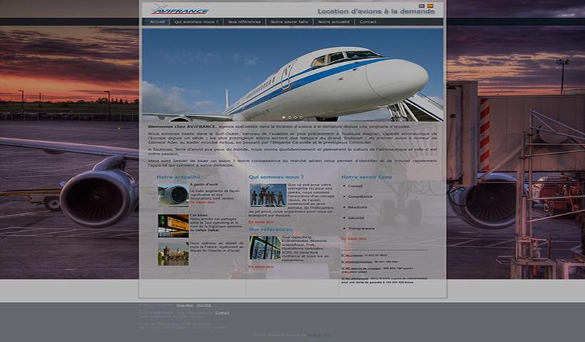 AVI France - un site réalisé et hébergé par Made in Web