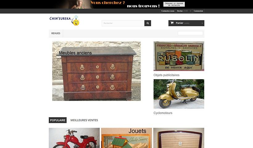 Chin'Eureka - Un site réalisé et hébergé par Made in Web