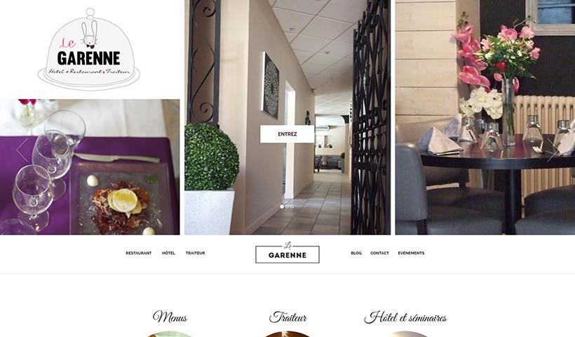 HR Le Garenne - Un site suivi et hébergé par Made in Web