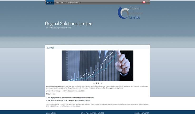 OSL - Un site réalisé et hébergé par Made in Web
