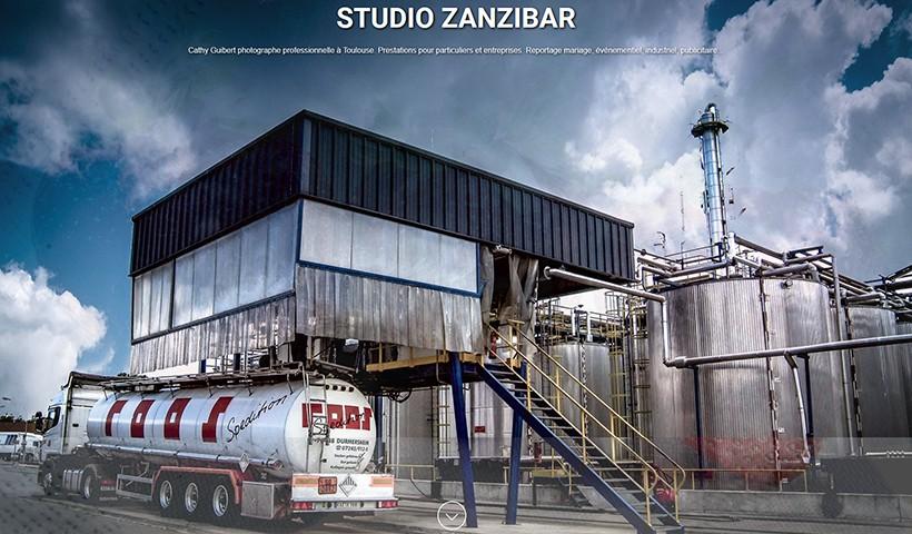 Studio Zanzibar - Un site réalisé par Made in Web